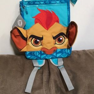 NWT Disney Store Lion Guard Small Backpack
